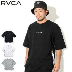 ルーカ RVCA カットソー 半袖 メンズ スモール ルーカ スウェット(RVCA Small RVCA Sweat S/S Crew ビッグシルエット オーバーサイズ トップス メンズ 男性用 AJ041-003) ice filed icefield