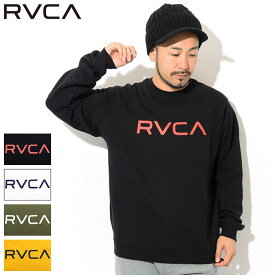 ルーカ RVCA トレーナー メンズ ビッグ ルーカ クルー スウェット ( RVCA Big RVCA Crew Sweat スエット トレナー トレイナー トップス メンズ 男性用 AJ042-001 ) ice field icefield