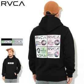ルーカ RVCA プルオーバー パーカー メンズ セリグラフ ( RVCA Serigraph Pullover Hoodie フード フーディ スウェット Pull Over Hoody Parker トップス メンズ 男性用 AJ042-019 ) ice field icefield