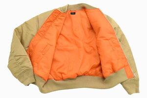 ルーカRVCAジャケットメンズバランスローズエムエーワン(RVCABalanceRoseMA-1JKTビッグシルエットオーバーサイズ中綿MA1MA1フライトジャケットJACKETJAKETアウタージャンパー・ブルゾンメンズ男性用AJ042-764)