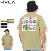 ルーカRVCATシャツ半袖メンズセリグラフボックスルーカ(RVCASerigraphBoxRVCAS/STeeティーシャツT-SHIRTSカットソートップスメンズ男性用BA041-222)[M便1/1]icefieldicefield