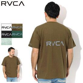 20周年セール!ルーカ RVCA Tシャツ 半袖 メンズ 20SU バック ルーカ ( RVCA 20SU Back RVCA S/S Tee ティーシャツ T-SHIRTS カットソー トップス メンズ 男性用 BA041-250 )[M便 1/1] ice field icefield