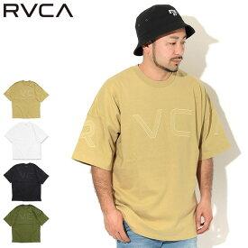 20周年セール!ルーカ RVCA Tシャツ 半袖 メンズ フェイク ルーカ ( RVCA Fake RVCA S/S Tee ビッグシルエット オーバーサイズ ティーシャツ T-SHIRTS カットソー トップス メンズ 男性用 BA041-254 )[M便 1/1] ice field icefield