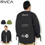 ルーカRVCAジャケットメンズライニングキルティング(RVCALinningQuiltingJKTビッグシルエットオーバーサイズ中綿JACKETJAKETアウタージャンパー・ブルゾンメンズ男性用BA042-764)