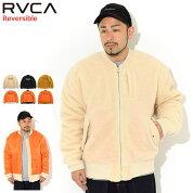 ルーカRVCAジャケットメンズホスエムエーワンリバーシブル(RVCAHothMA-1ReversibleJKTフライトジャケットフリースジャケットMA1MA1JACKETJAKETアウタージャンパー・ブルゾンメンズ男性用BA042-765)