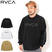 ルーカRVCATシャツ長袖メンズビッグルーカ(RVCABigRVCAL/STeeビッグシルエットオーバーサイズティーシャツT-SHIRTSカットソートップスロングロンティーロンtメンズ男性用BB041-052)icefieldicefield