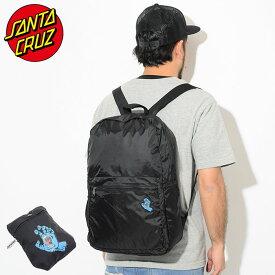 サンタクルーズ SANTA CRUZ リュック スクリーミング ハンド パッカブル バックパック ( SANTA CRUZ Screaming Hand Packable Backpack Bag バッグ Daypack デイパック 普段使い 通勤 通学 旅行 メンズ レディース ユニセックス 男女兼用 44642578 )