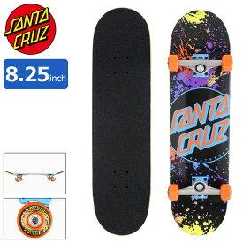 サンタクルーズ SANTA CRUZ スケボー スケートボード コンプリート デッキ 8.25インチ × 31.5インチ Dot Splatter ( 8.25inch 完成品 組み立て済み コンプリートセット ブランド メーカー sk8 COMPLETE 大人 初心者 おすすめ )