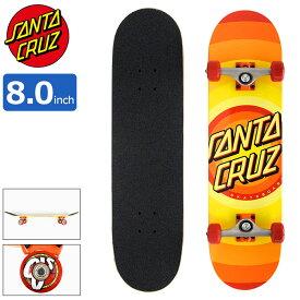 サンタクルーズ SANTA CRUZ スケボー スケートボード コンプリート デッキ 8.0インチ × 31.25インチ Gleam Dot ( 8.0inch 完成品 組み立て済み コンプリートセット ブランド メーカー sk8 COMPLETE 大人 初心者 おすすめ )
