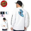 サンタクルーズ SANTA CRUZ Tシャツ 長袖 メンズ スクリーミング ハンド ( SANTA CRUZ Screaming Hand L/S Tee ティーシャツ T-SHIRTS ロング ロンティー ロンt カットソー トップス メンズ 男性用 44152492 ) ice filed icefield