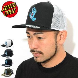 サンタクルーズ SANTA CRUZ キャップ メンズ スクリーミング ハンド フロント トラッカーキャップ ( SANTA CRUZ Screaming Hand Front Trucker Cap スナップバック メッシュキャップ 帽子 メンズ 男性用 44441824 )