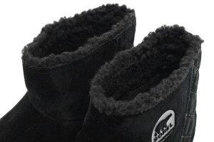 ソレルSORELブーツレディース女性用グレイシーショートBlack/Sharkウィメンズ(SorelGLACYSHORTWOMENS防水BootBootsスノー・ブーツウィンター・ブーツ靴・ブーツsoreruLadysウーマンズブラック黒LL5195-010)icefiledicefield
