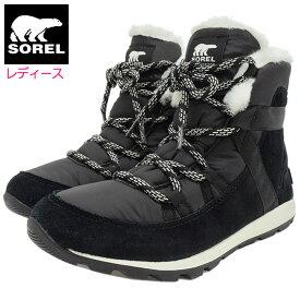 ソレル SOREL スノーブーツ レディース 女性用 ウィットニー フルーリー Black ウィメンズ ( Sorel WHITNEY FLURRY WOMENS 防水 Boot Boots スノー・ブーツ ウィンター・ブーツ 靴・ブーツ soreru Ladys ウーマンズ ブラック 黒 NL3428-010 )