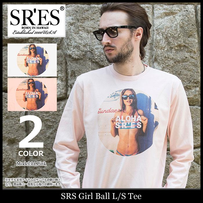エスアールエス SRES Tシャツ 長袖 メンズ ガール ボール(SRS Girl Ball L/S Tee ティーシャツ T-SHIRTS カットソー トップス ロング ロンティー ロンt プロジェクトエスアールエス KNT01313)
