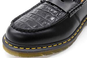 ステューシーSTUSSYシューズレディース&メンズドクターマーチンペントンローファーBlackコラボ(stussy×Dr.MartensPentonLoaferMadeinEnglandShoes靴24359001USAモデル正規品ステューシー×ドクターマーチン)