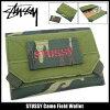 Stussy STUSSY 迷彩字段 (stussy 钱包钱包男装,男装 136102 Stussy stussy Stussy steussie 配件) 的钱包冰提起冰原