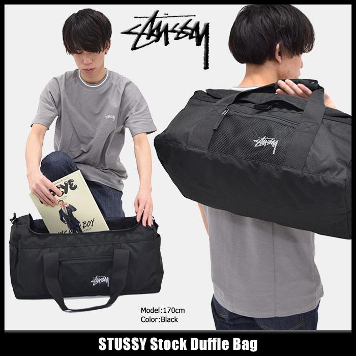 ステューシー STUSSY ダッフルバッグ Stock(stussy duffle bag ダッフル バッグ ショルダーバッグ 普段使い 通勤 通学 旅行 メンズ レディース ユニセックス 男女兼用 134167 USAモデル 正規 品 ストゥーシー スチューシー 小物)
