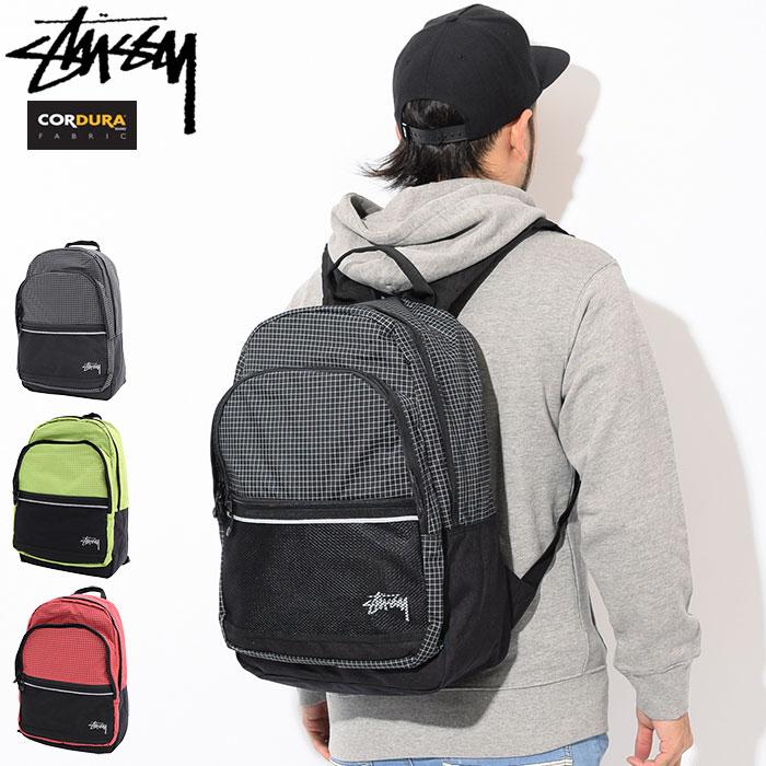 ステューシー STUSSY リュック Ripstop Nylon(stussy backpack バックパック Daypack デイパック Bag バッグ 普段使い 通勤 通学 旅行 メンズ レディース ユニセックス 男女兼用 133020 USAモデル 正規 品 ストゥーシー スチューシー 小物)