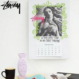 ステューシー STUSSY カレンダー Stussy 2020 ( stussy calendar ポスター 壁掛け メンズ・男性用 138673 USAモデル 正規 品 ストゥーシー スチューシー 小物 ) ice field icefield