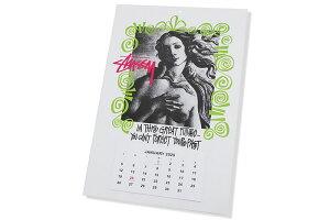 ステューシーSTUSSYカレンダーStussy2020(stussycalendarポスター壁掛けメンズ・男性用138673USAモデル正規品ストゥーシースチューシー小物)icefieldicefield