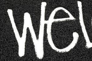ステューシーSTUSSYマットメンズPVCWelcome(stussymat玄関マットメンズ・男性用138493USAモデル正規品ストゥーシースチューシー小物)icefiledicefield