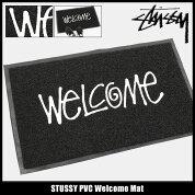 ステューシーSTUSSYマットメンズPVCWelcome(stussymat玄関マットメンズ・男性用138493ストゥーシースチューシー小物)icefiledicefield