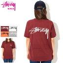 ステューシー STUSSY Tシャツ 半袖 レディース WOMEN Smooth Stock(stussy tee ティーシャツ T-SHIRTS カットソー トップス ガールズ …