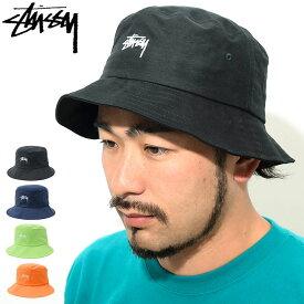 ステューシー STUSSY バケット ハット SP19 Stock Bucket Hat 帽子(stussyhat メンズ・男性用 132917 USAモデル 正規 品 ストゥーシー スチューシー) ice filed icefield