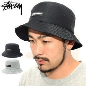 ステューシー STUSSY バケット ハット Nylon Rubber Patch Bucket Hat 帽子(stussyhat メンズ・男性用 132927 USAモデル 正規 品 ストゥーシー スチューシー) ice filed icefield