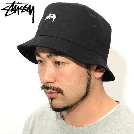ステューシー STUSSY バケット ハット Stock Band Bucket Hat 帽子(stussyhat メンズ・男性用 132930 USAモデル 正規 品 ストゥーシー スチューシー) ice filed icefield