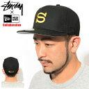 ステューシー STUSSY キャップ 帽子 ニューエラ Stussy Basic S コラボ ( STUSSY×NEW ERA Fitted Cap フィット フィ…