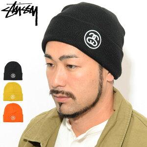 ステューシーSTUSSYニット帽FA19SSLinkCuff(stussybeanieビーニー帽子ニットキャップメンズ・男性用132937USAモデル正規品ストゥーシースチューシー)icefiledicefield