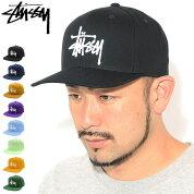 ステューシーSTUSSYキャップ帽子BasicStockSnapbackCap(ベースボールキャップスナップバックメンズ・男性用131993USAモデル正規品ストゥーシースチューシー)icefieldicefield