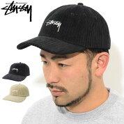 ステューシーSTUSSYキャップ帽子CordLowProCap(ローキャップストラップバックメンズ・男性用131919USAモデル正規品ストゥーシースチューシー)icefieldicefield