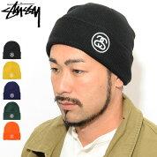 ステューシーSTUSSYニット帽SSLinkCuff(stussybeanieビーニー帽子ニットキャップメンズ・男性用132954132937USAモデル正規品ストゥーシースチューシー)icefieldicefield