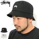 ステューシー STUSSY バケット ハット Stock Bucket Hat 帽子 ( stussyhat メンズ・男性用 1321023 1321015 USAモデル 正規 品 ストゥ…