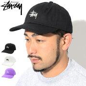 ステューシーSTUSSYキャップ帽子StockLowProCap(ローキャップストラップバックメンズ・男性用131916131863USAモデル正規品ストゥーシースチューシー)icefieldicefield
