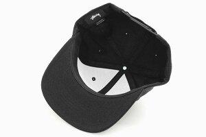ステューシーSTUSSYキャップ帽子StockSnapbackCap(ベースボールキャップスナップバックメンズ・男性用131921131908USAモデル正規品ストゥーシースチューシー)icefieldicefield
