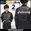 ステューシー STUSSY ジャケット メンズ California Satin(stussy JKT スーベニアジャケット スカジャン サテン JACKE…