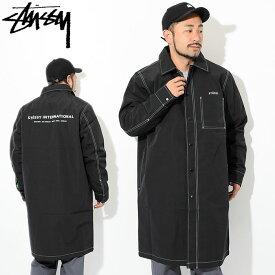 ステューシー STUSSY ジャケット メンズ Nylon Shop(stussy coat ショップコート JACKET アウター メンズ・男性用 115408 USAモデル 正規 品 ストゥーシー スチューシー) ice filed icefield