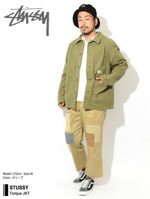 ステューシーSTUSSYジャケットメンズTorque(stussyJKTワークジャケットJACKETJAKETアウタージャンパー・ブルゾンメンズ・男性用115463USAモデル正規品ストゥーシースチューシー)icefiledicefield