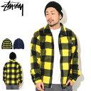 ステューシー STUSSY ジャケット メンズ Polar Fleece Zip Up Shirt ( stussy JKT フリー フルジップ シャツジャケッ...