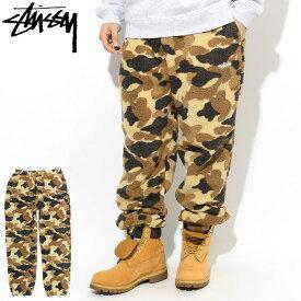 ステューシー STUSSY パンツ メンズ Camo Fleece ( stussy Pant フリースパンツ カモ 迷彩 ボトムス メンズ・男性用 116409 USAモデル 正規 品 ストゥーシー スチューシー ) ice field icefield