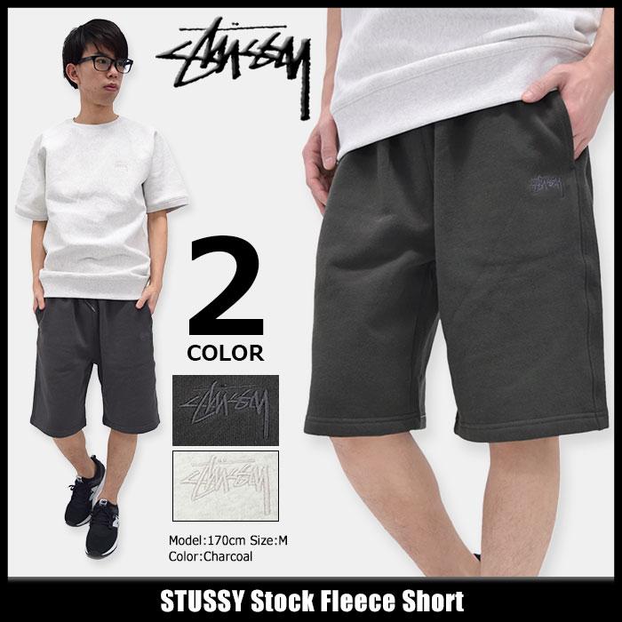 ステューシー STUSSY ハーフパンツ メンズ Stock Fleece(stussy short pant ショーツ スウェットショーツ ショートパンツ ハーパン ボトムス メンズ・男性用 112200 ストゥーシー スチューシー) ice filed icefield