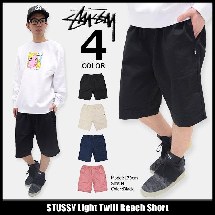 ステューシー STUSSY ハーフパンツ メンズ Light Twill Beach(stussy short pant ショーツ ショートパンツ ハーパン ボトムス メンズ・男性用 112196 USAモデル 正規 品 ストゥーシー スチューシー)