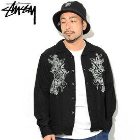 ステューシー STUSSY シャツ 長袖 メンズ Embroidered Dragon ( stussy shirt オープンカラーシャツ カジュアルシャツ トップス メンズ・男性用 1110067 USAモデル 正規 品 ストゥーシー スチューシー )