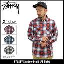 ステューシー STUSSY シャツ 長袖 メンズ Shadow Plaid(stussy shirt カジュアルシャツ トップス メンズ・男性用 1118…