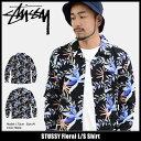 ステューシー STUSSY シャツ 長袖 メンズ Floral(stussy shirt オープンカラーシャツ カジュアルシャツ トップス メンズ・男性用 11...