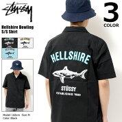 ステューシーSTUSSYシャツ半袖メンズHellshireBowling(stussyshirtボウリングシャツカジュアルシャツトップスメンズ・男性用111971ストゥーシースチューシー)icefiledicefield