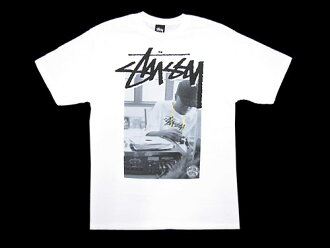 STUSSY(suteyushi)×STONES THROW J Dilla S/S Tee协作(stussy tee T恤T-SHIRTS最高层人男性用)ice filed icefield